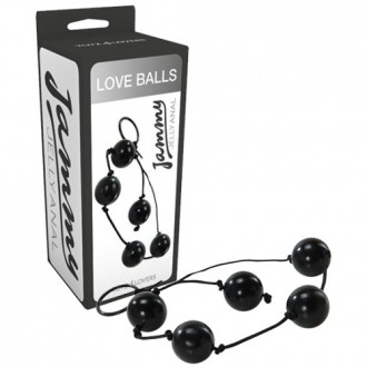 JAMMY JELLY ANAL LOVE BALLS BLACK