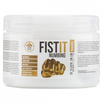 LUBRICANTE PARA FISTING FIST IT NUMBING 500ML