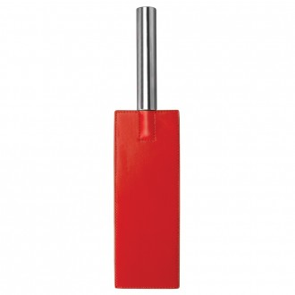 AZOTADOR OUCH! LEATHER PADDLE ROJO