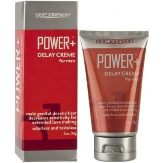 POWER + DELAY CREAM 56GR