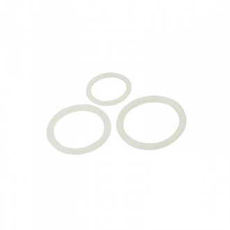 TIMELESS SILICONE COCK RINGS SET CLEAR