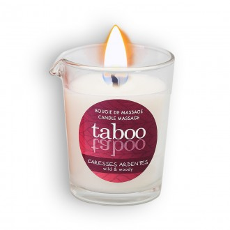 TABOO CARESSES ARDENTES MASSAGE CANDLE FOR HIM 60GR