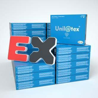 50 BOXES OF 144 NATURAL CONDOMS UNILATEX
