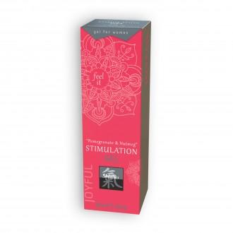 SHIATSU POMEGRANATE AND NUT MEG STIMULATING GEL 30ML