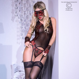 CR-4352 CORSET AND THONG