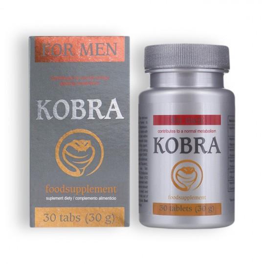 KOBRA STIMULATING CAPS FOR MEN 30 CAPS