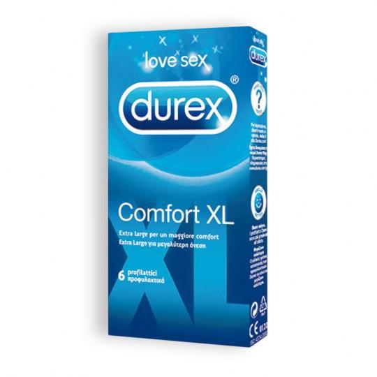 COMFORT XL DUREX CONDOMS 6 UNITS