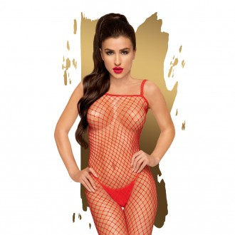 PENTHOUSE BODY SEARCH BODYSTOCKING RED
