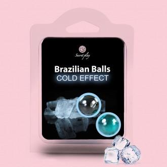 BRAZILIAN LUBRICANT BALLS COOL EFFECT 2 x 4GR