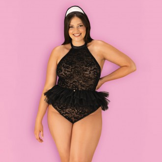 QUEEN SIZE OBSESSIVE FRILLES MAID COSTUME
