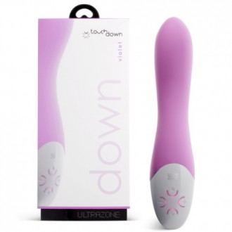 TOUCH DOWN VIOLET RECHARGEABLE VIBRATOR