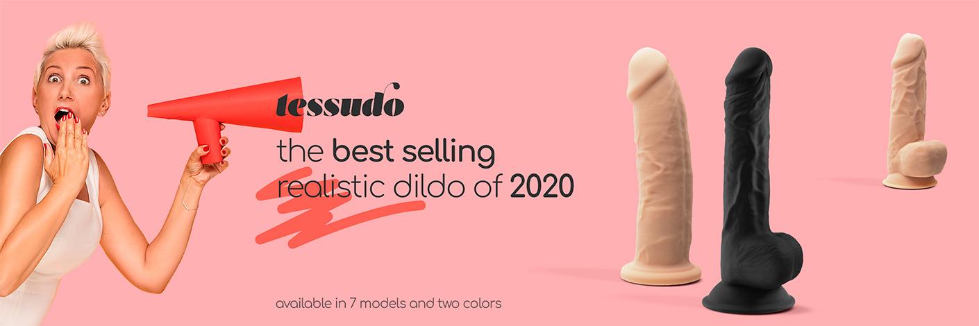 Tessudo - best selling realistic dildo of 2020