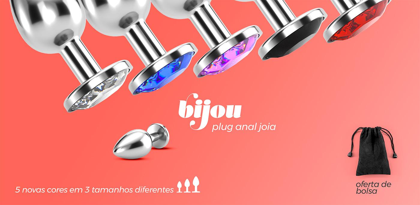 Bijou - plug anal joia